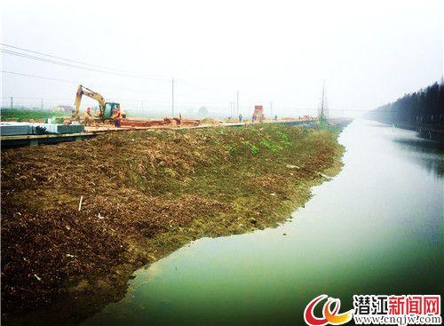返湾湖湿地国际马拉松赛道建设进入全速冲刺