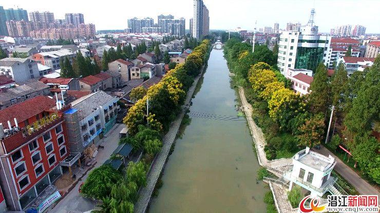 潜江城建发力绿色发展 构筑水乡园林精致城市