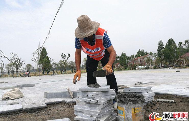 兴隆河绿道火热施工 9月将迎环中国自行车赛