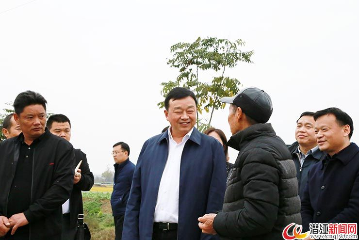 吴祖云深入渔洋镇调研脱贫攻坚和村级组织换届工作