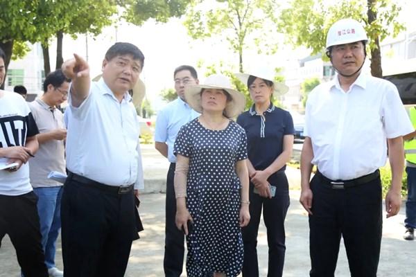 舒敏督办交通公路重点建设项目