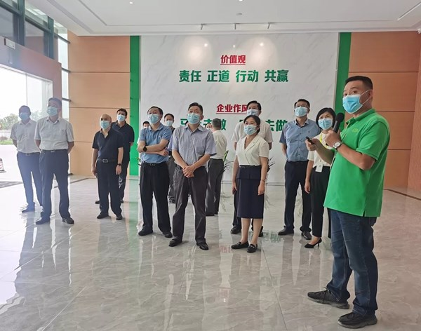 省人大常委会调研组来潜开展法治化营商环境调研